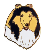 Collie Lapel Pin