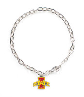 Iowa State Logo Bracelet