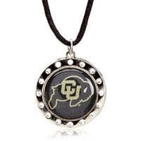 Colorado Crystal Circle Necklace