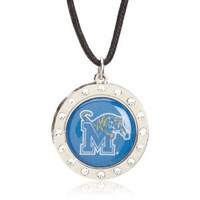 Memphis Crystal Circle Necklace