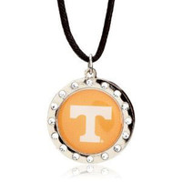 Tennessee Crystal Circle Necklace
