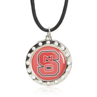 North Carolina State Crystal Circle Necklace