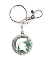 Michigan State Impact Key Ring