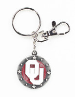 Oklahoma Impact Key Ring