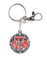 Texas Tech Impact Key Ring