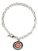 Chicago Cubs Logo Bracelet