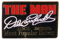"Dale Earnhardt ""The Man"" Lapel Pin"