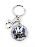 Milwaukee Brewers Impact Key Ring