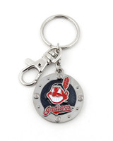 Cleveland Indians Impact Key Ring