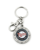 Minnesota Twins Impact Key Ring