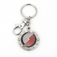Portland Trail Blazers Impact Key Ring