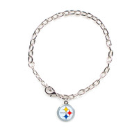Pittsburgh Steelers Logo Bracelet