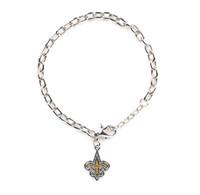New Orleans Saints Logo Bracelet