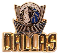 Dallas Mavericks Logo w/ Workmark Pin