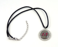 Tampa Bay Buccaneers Crystal Circle Necklace