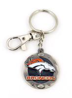 Denver Broncos Impact Key Ring