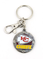 Kansas City Chiefs Impact Key Ring