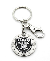 Oakland Raiders Impact Key Ring