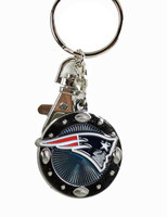 New England Patriots Impact Key Ring