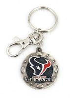 Houston Texans Impact Key Ring