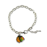Chicago Blackhawks Logo Bracelet