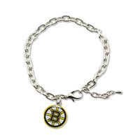Boston Bruins Logo Bracelet