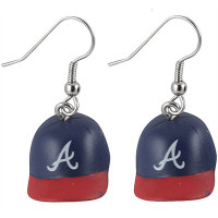 Atlanta Braves 3D Cap Earrings