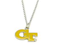 Georgia Tech Logo Pendant
