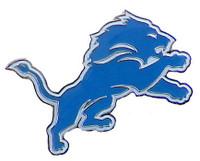 Detroit Lions Logo Pin