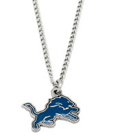 Detroit Lions Logo Necklace