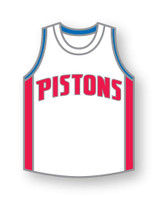 Detroit Pistons Jersey Pin