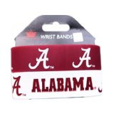 Alabama Wide Wristbands (2 Pack)