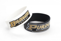 Purdue Wide Wristbands (2 Pack)