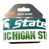 Michigan State Wide Wristbands (2 Pack)