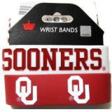 Oklahoma University Wide Wristbands (2 Pack)