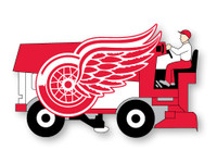 Detroit Red Wings Zamboni Pin