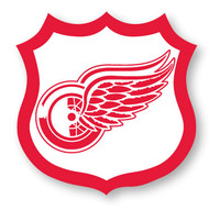 Detroit Red Wings NHL Shield Pin
