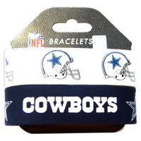 Dallas Cowboys Wide Wristbands (2 Pack)