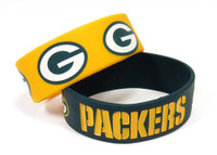 Green Bay Packers Wide Wristbands (2 Pack)