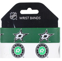 Dallas Stars Wide Wristbands (2 Pack)