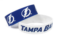 Tampa Bay Lightning Wide Wristbands (2 Pack)