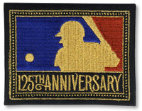 MLB 125th Anniversary Patch