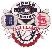 Detroit Tigers vs Cardinals 2006 World Series Dueling Pin - Exclusive