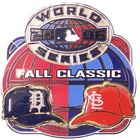 Detroit Tigers vs. Cardinals 2006 World Series Dueling Pin #4