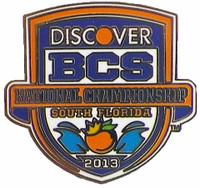2013 BCS Discover National Championship Logo Pin