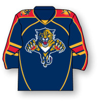 Florida Panthers Jersey Pin