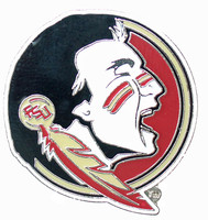 Florida State Seminoles Logo Pin