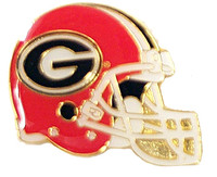 Georgia Bulldogs Helmets Pin