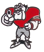 Georgia Football Mascot Pin