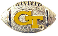 Georgia Tech Football Pin